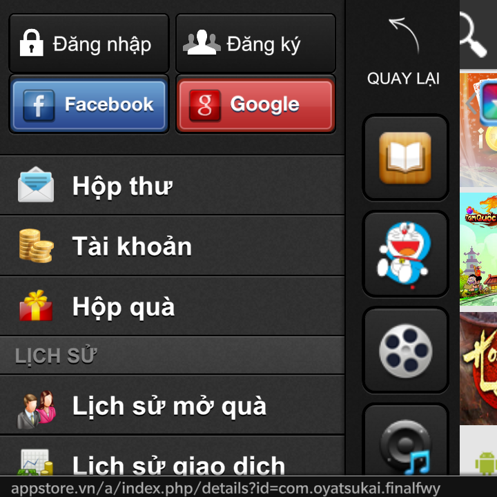 cách tải appstorevn cho android