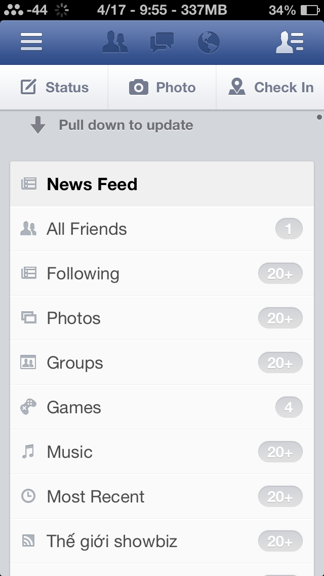 facebook 6.0 iphone ipad